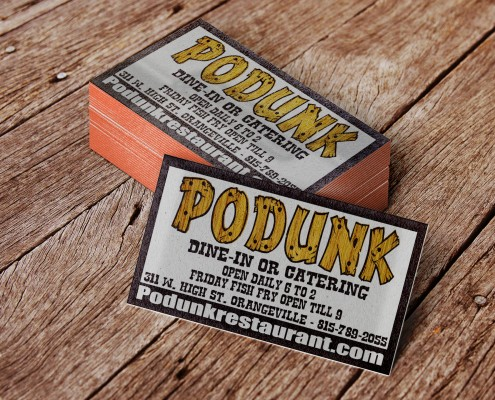 PoDunk Business Cards